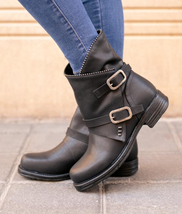 Low Boot Uriz - Black