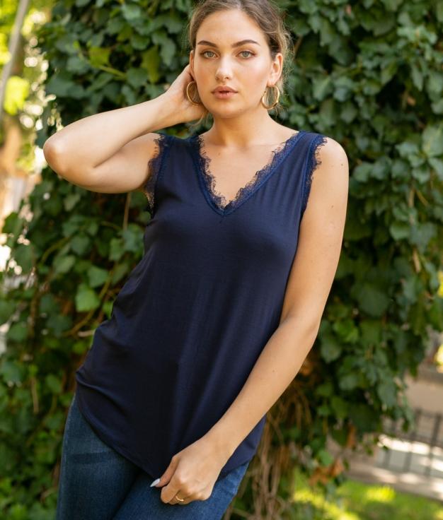 Camiseta Mirlo - Azul Marino