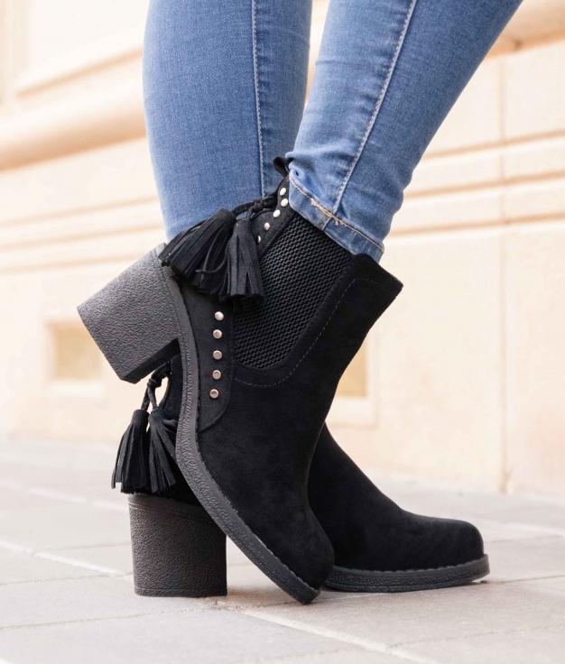 Low Boot Astros - Black