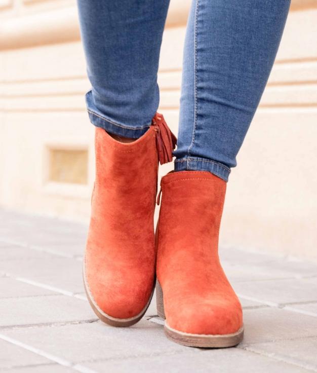Low Boot Astros - Orange