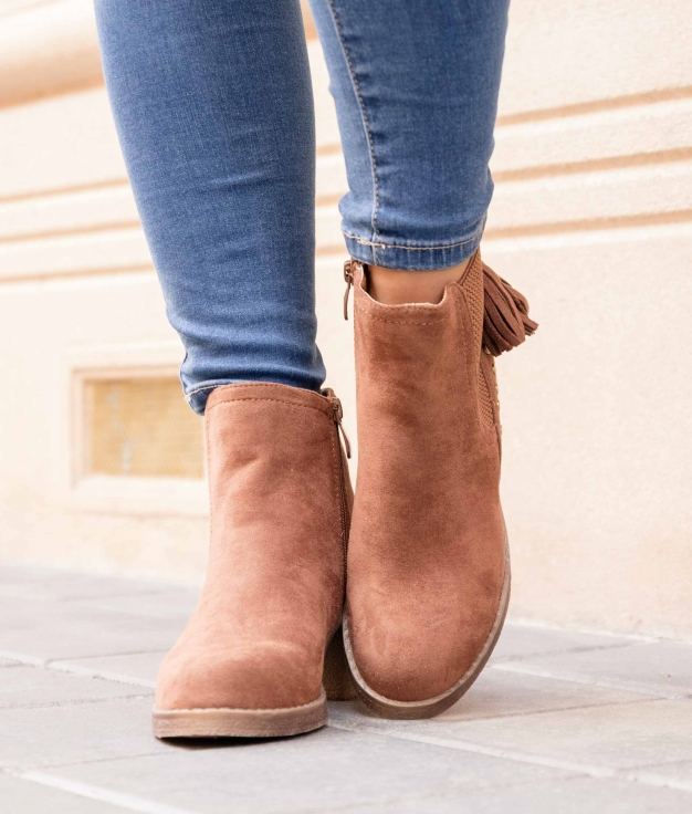 Low Boot Astros - Camel