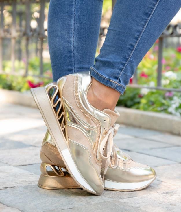 Sneakers Nuclox - Oro