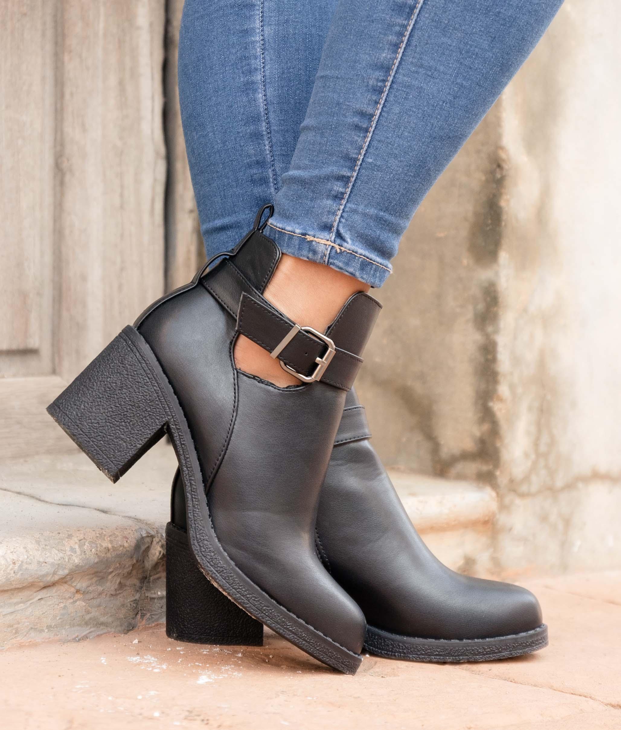 Low Boot Germes - Black