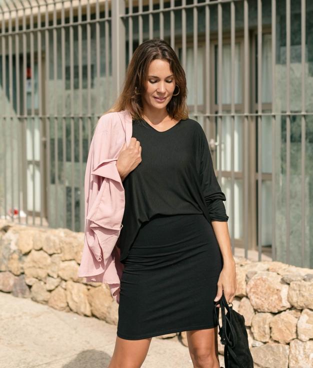 Camiseta Avali - Negro