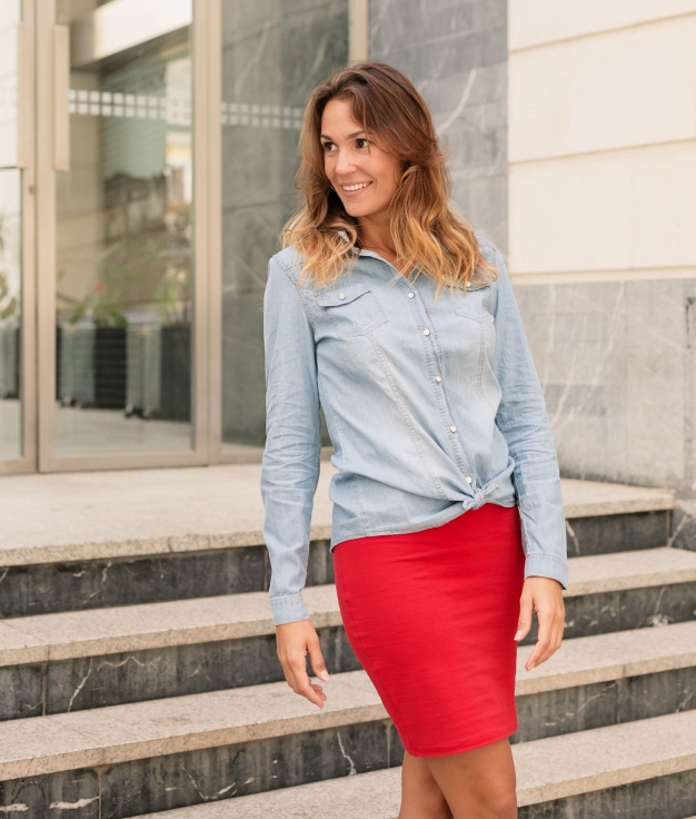 Camisa Casot - Denim Claro