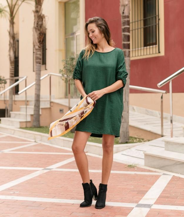 Vestido Canteler - Verde