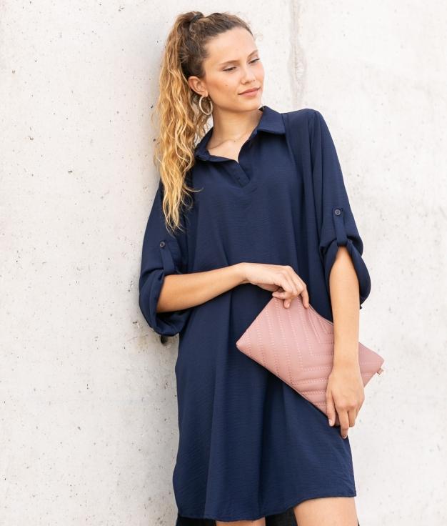 Vestido Sulas - Azul Marino