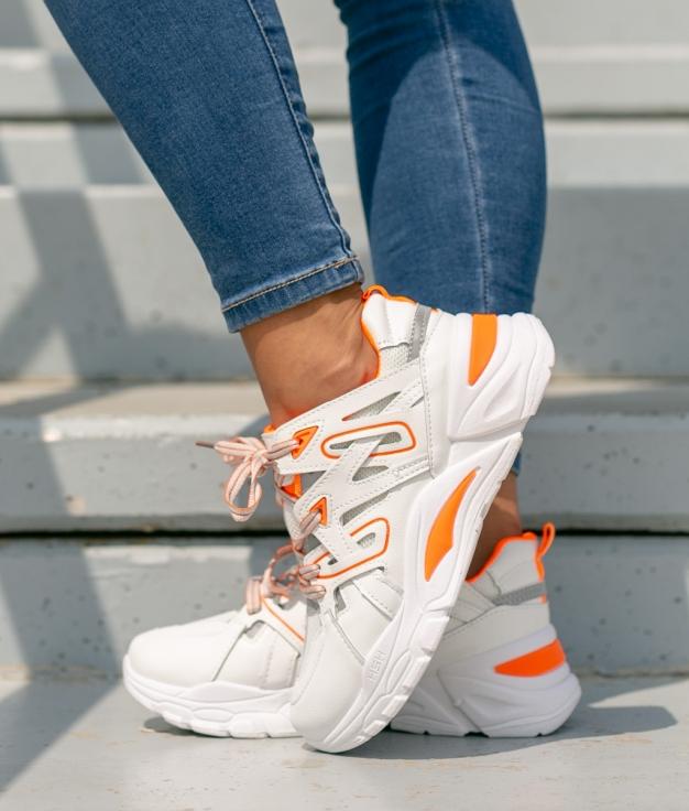 Sneakers Jumper - Naranja