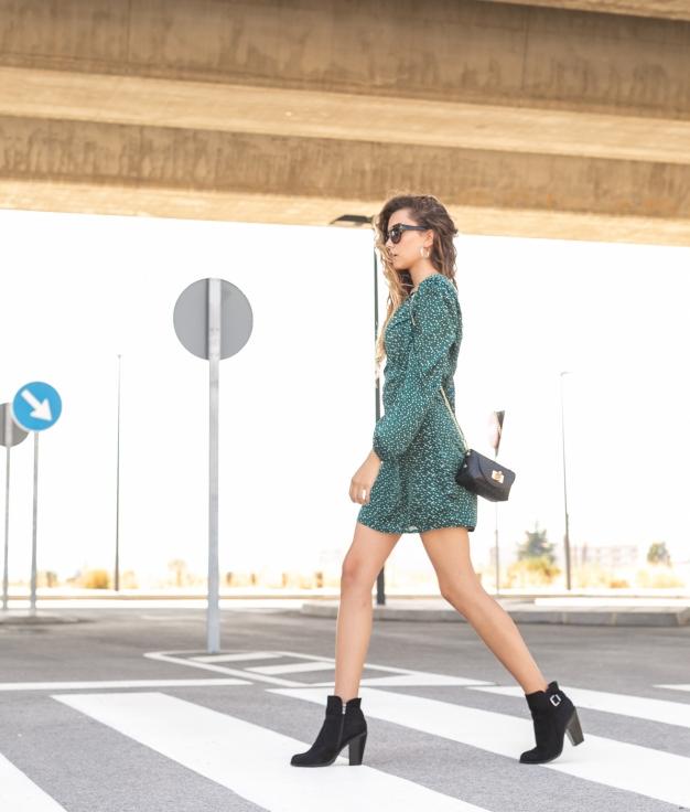 Dress Phoebe - Green