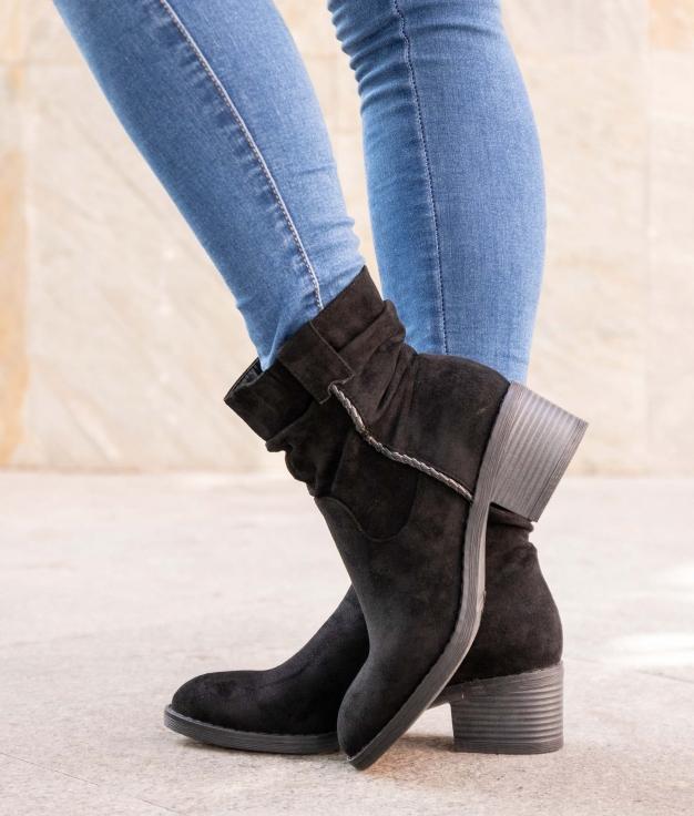 Low Boot Vindel - Black