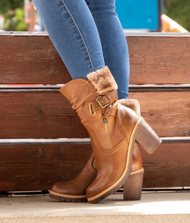 Low Boot Ylenia - Brown