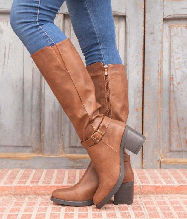 Knee-length Boot Arene - Camel