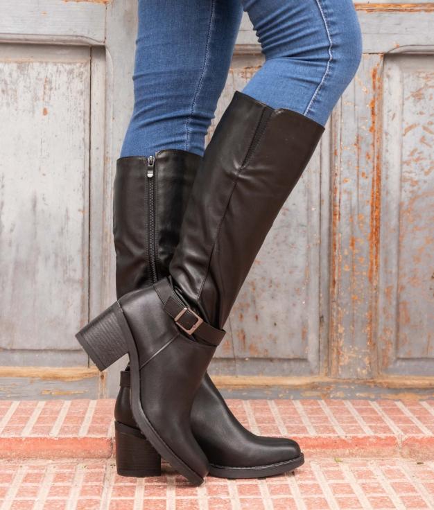 Knee-length Boot Arene - Black