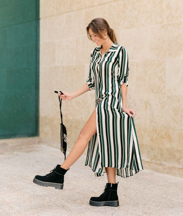Dress Sofil - Green