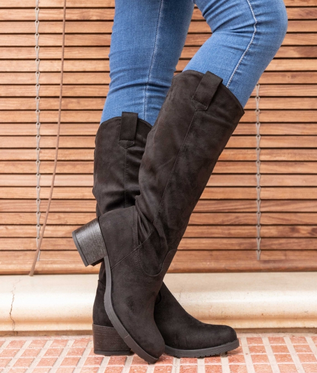Knee-length Boot Tisen - Black