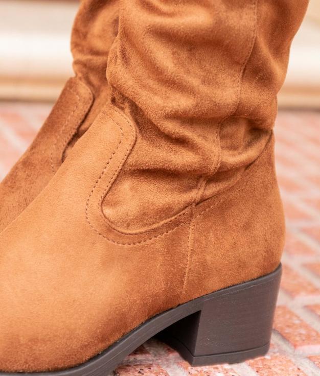 Knee-length Boot Tisen - Camel
