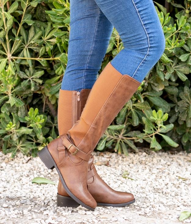 Knee-length Boot Yean - Camel