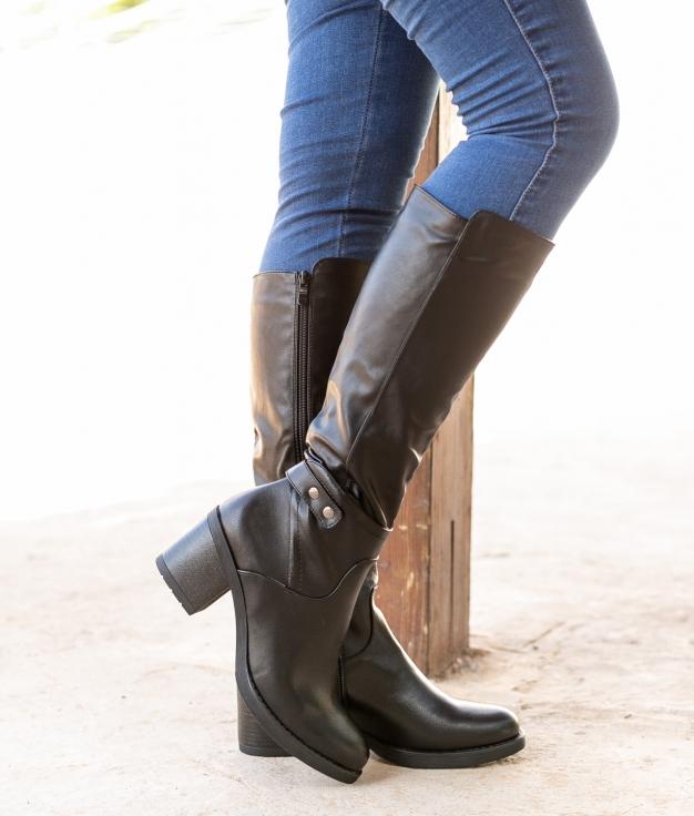 Knee-length Boot Sire - Black