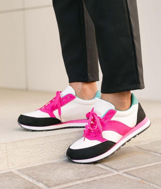 Sneakers Lens - Bianco