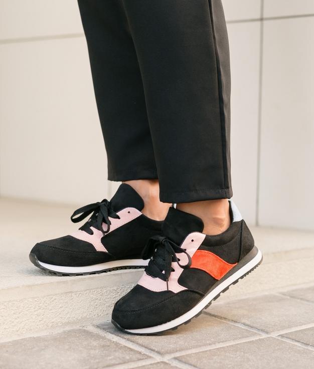 Sneakers Lens - Nero