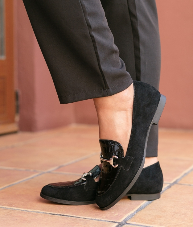 Zapato Píder - Negro