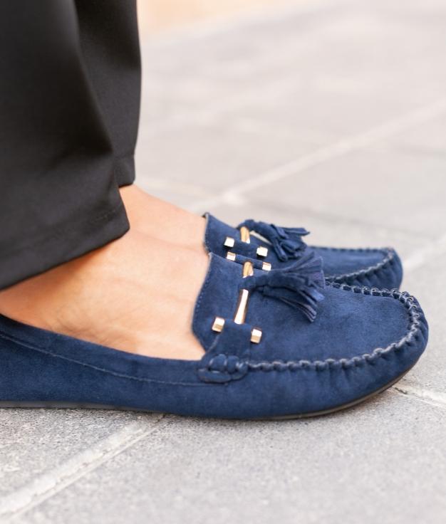 Zapato Nígar - Bleu
