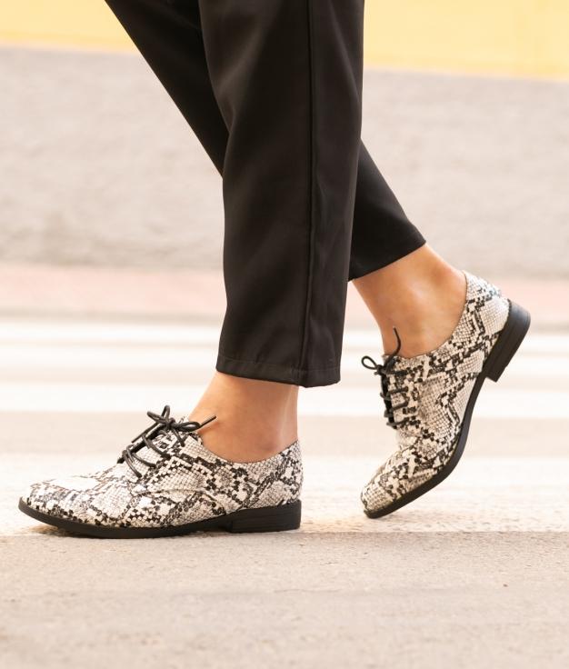 Zapato Zaca - Blanco