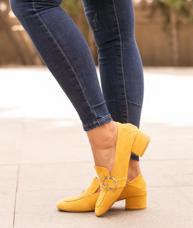 Zapato de Tacón Cate - Amarillo