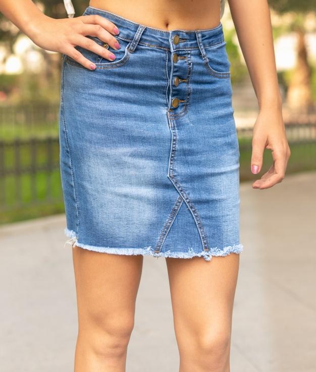Skirt Asly - Denim