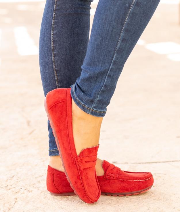 Shoe Finure - Red