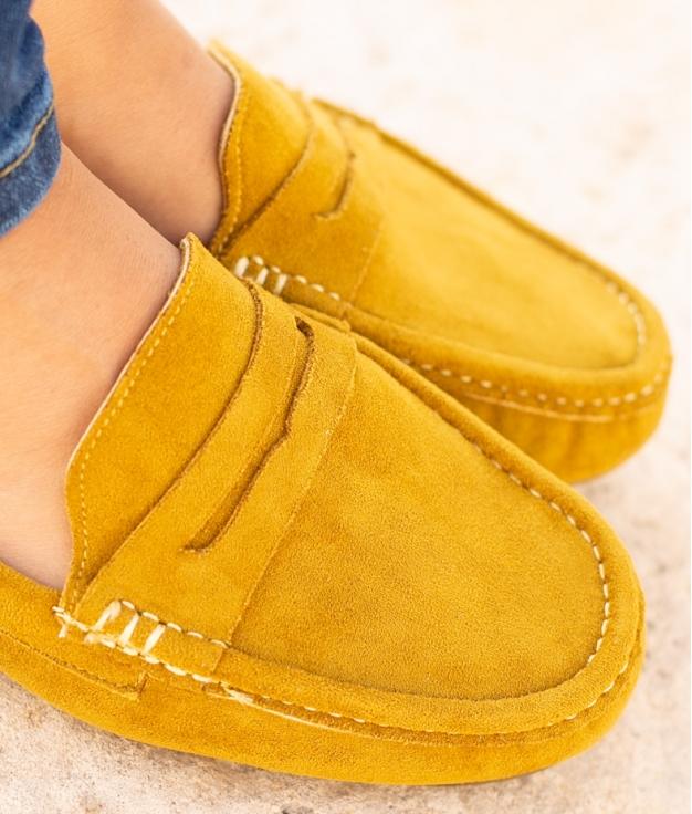 Chaussure Finure - Jaune
