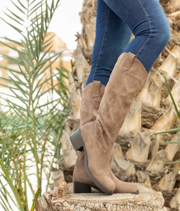 Knee-length Boot Tisen - Khaki