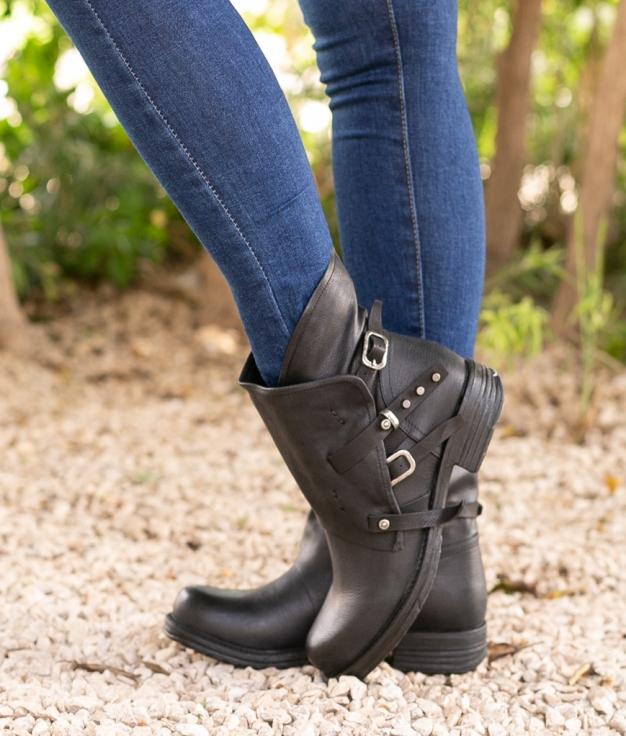 Low Boot Harenia - Black