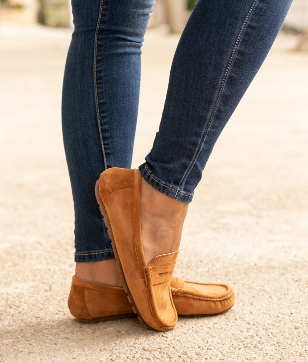Sapato Finure - Camelo