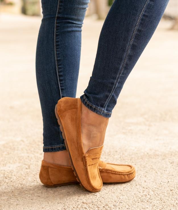 Zapato Finure - Camel