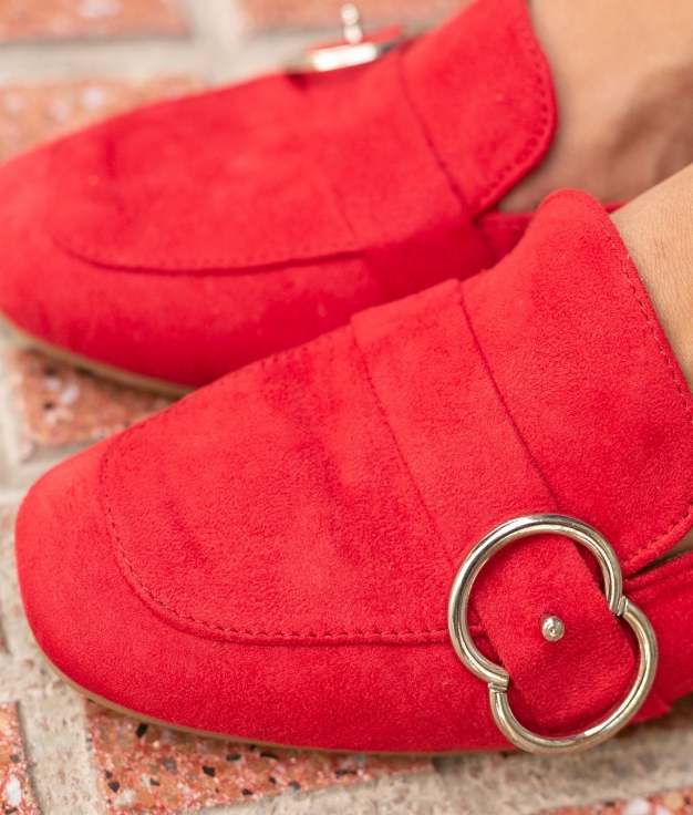 Chaussure Cate - Rouge