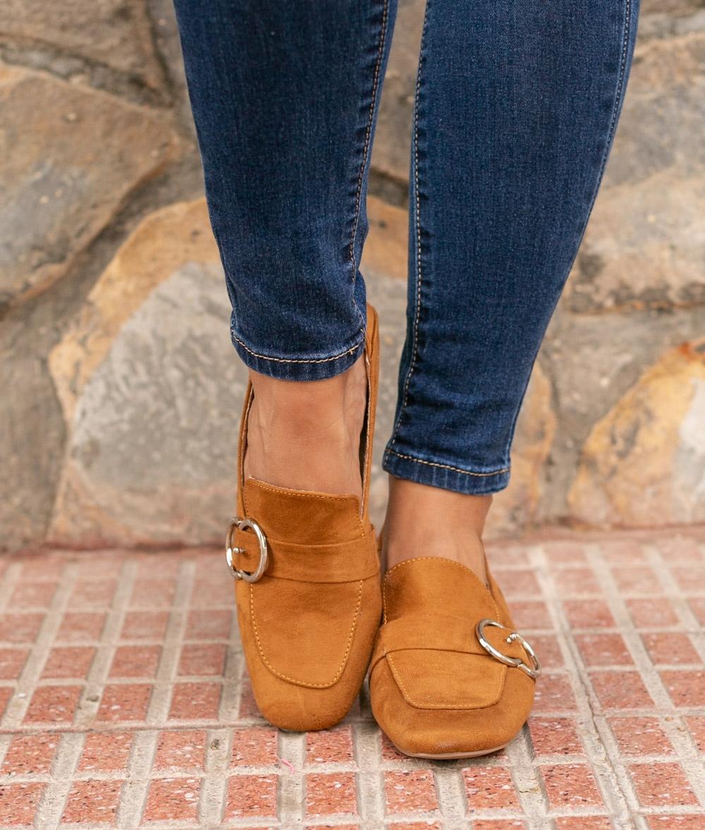 Sapato Cate - Camelo