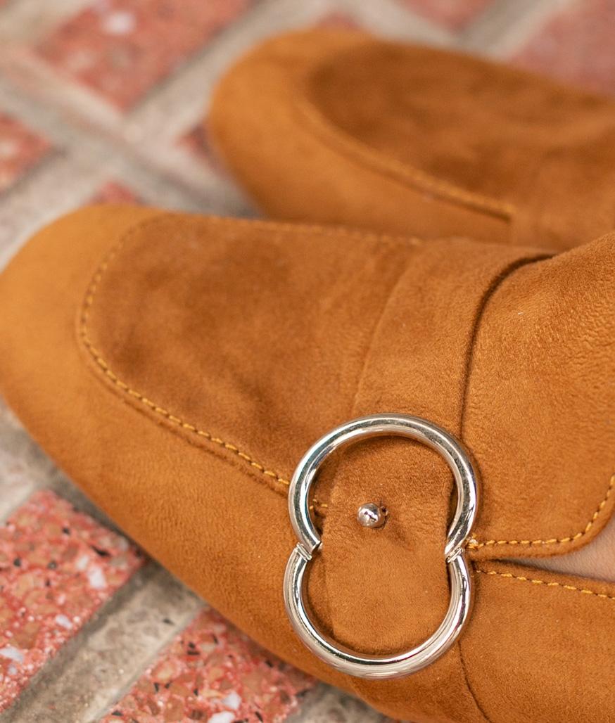 Zapato de Tacón Cate - Camel