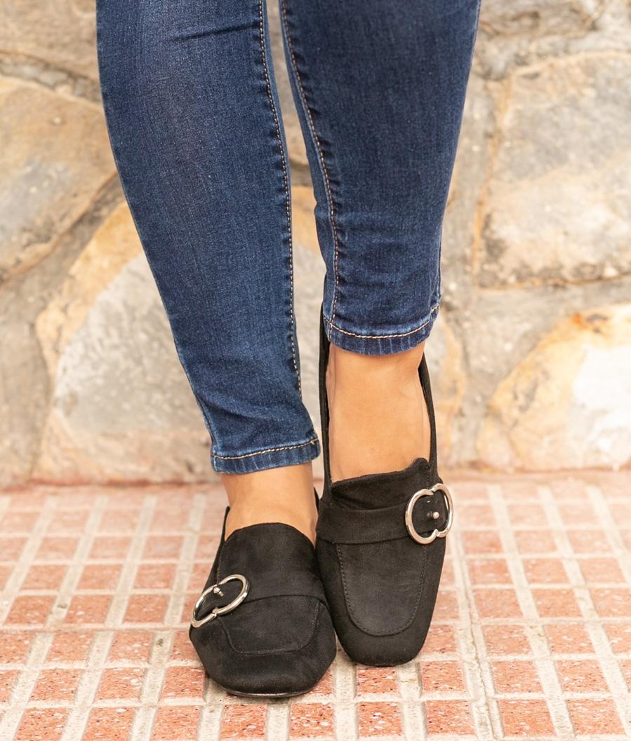 Zapato de Tacón Cate - Negro