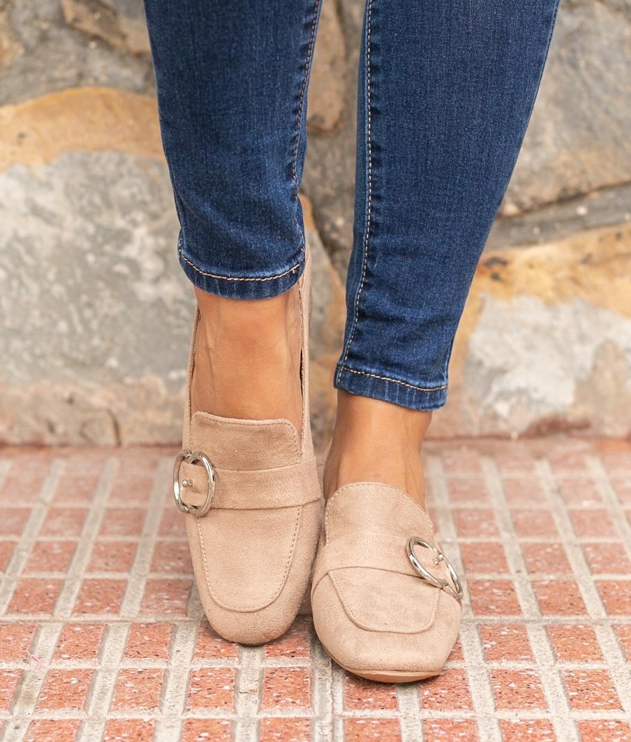 Zapato de Tacón Cate - Kaki