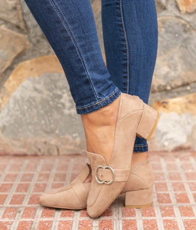 Sapato Cate - Kaki
