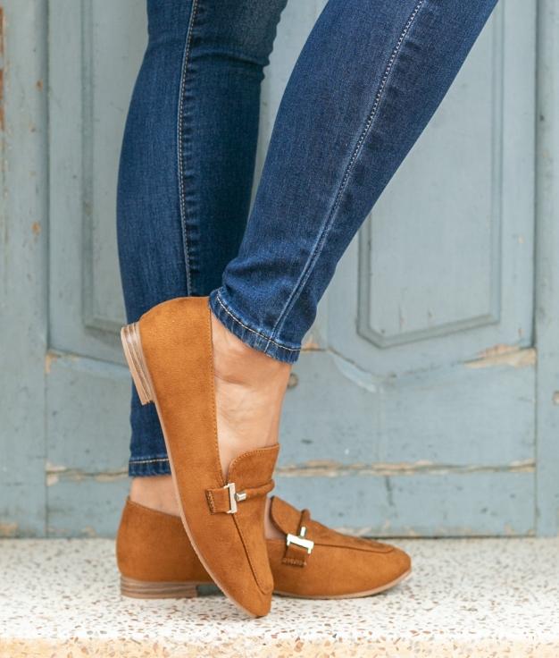 Zapato Finse - Camel