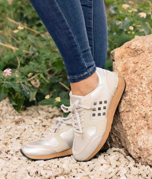 Sneakers Gian - Silver