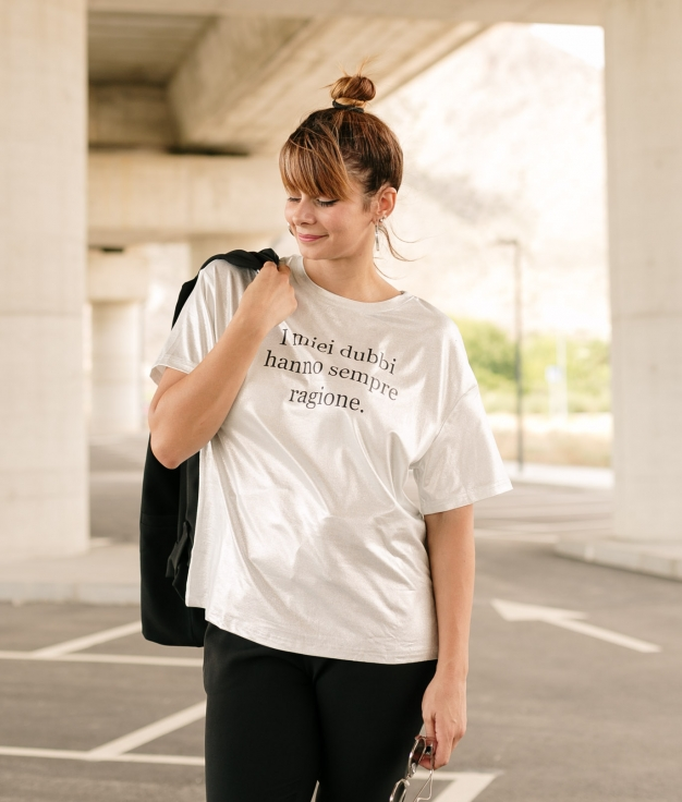 T-shirt Koren - White