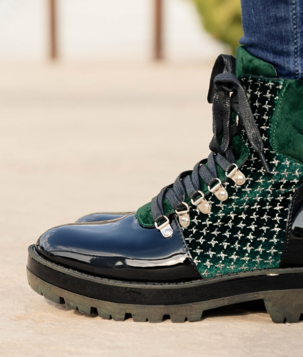 Low Boot Emore - Green
