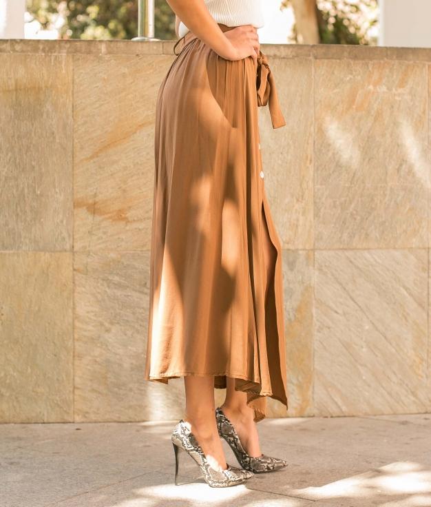 Falda Carli - Camel