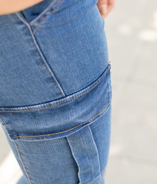 Pantaloni Jalisa - Denim