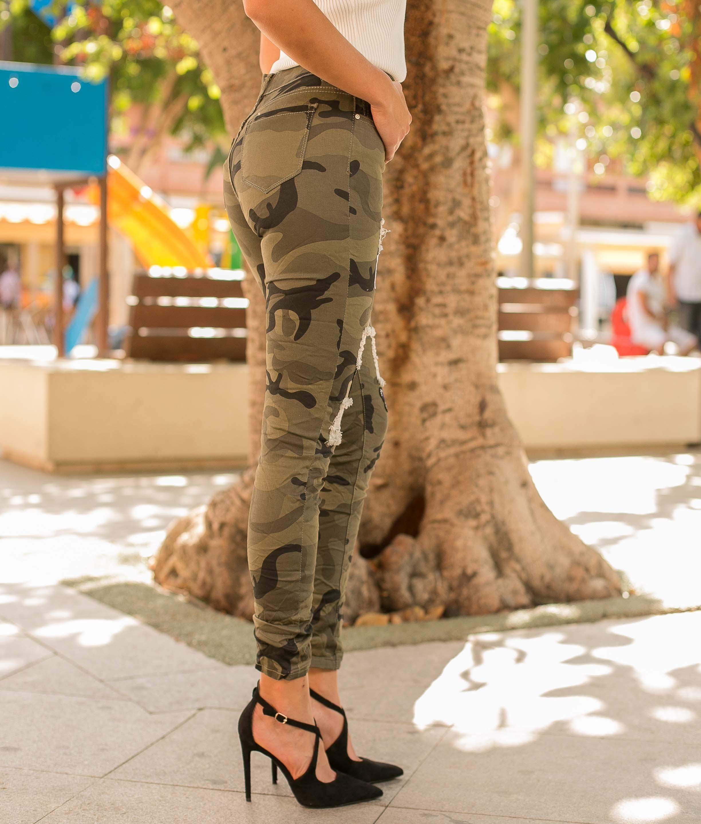 Pantalon Ribes - Kaki