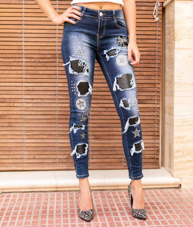 Pantaloni Lunder - Denim Scuro