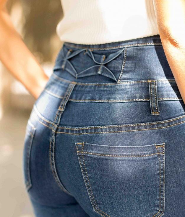 Pantalon Alesa - Denim Foncé